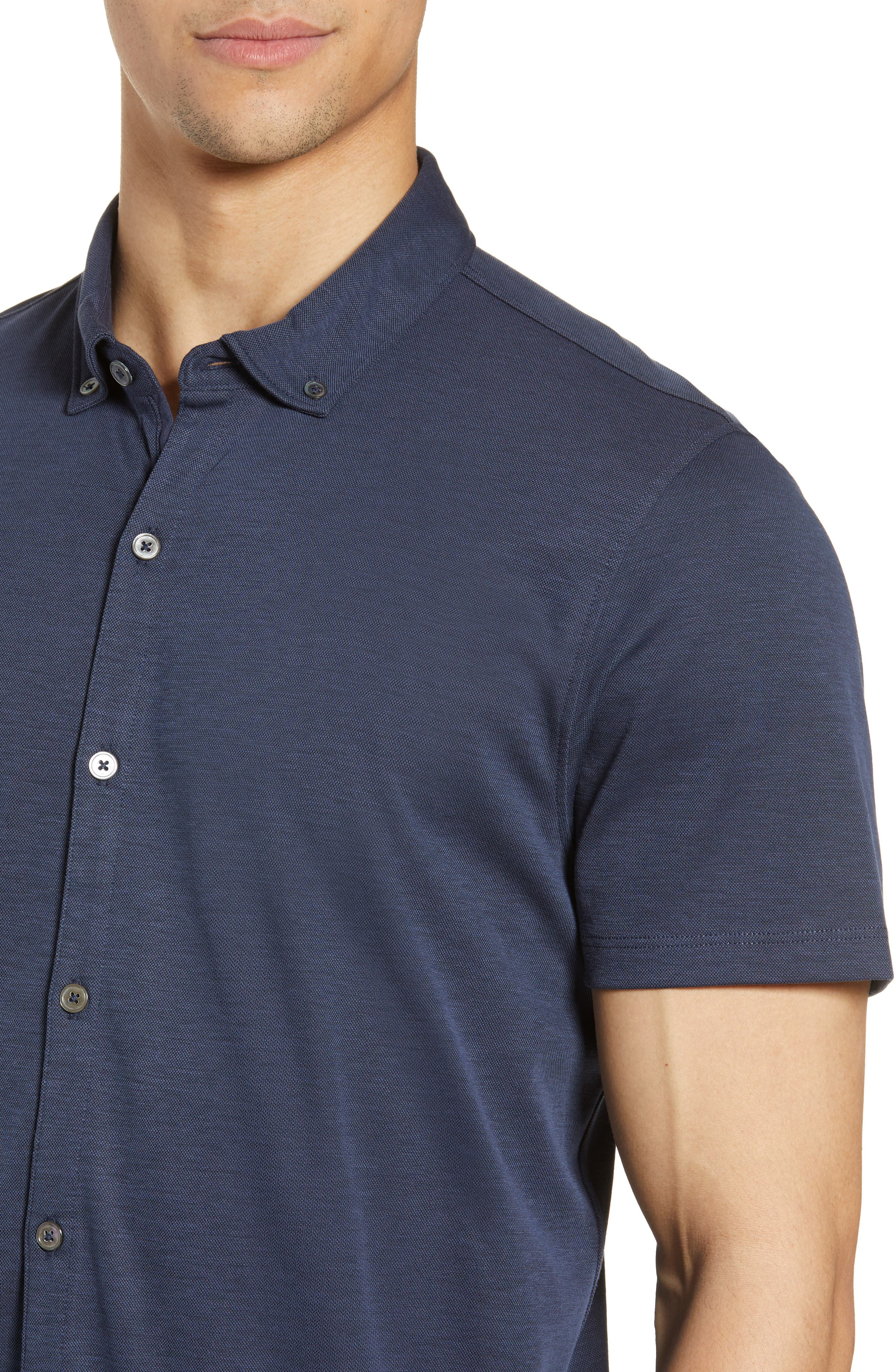 ,                             Caruth Regular Fit Short Sleeve Sport Shirt,                             Alternate thumbnail 22, color,                             410