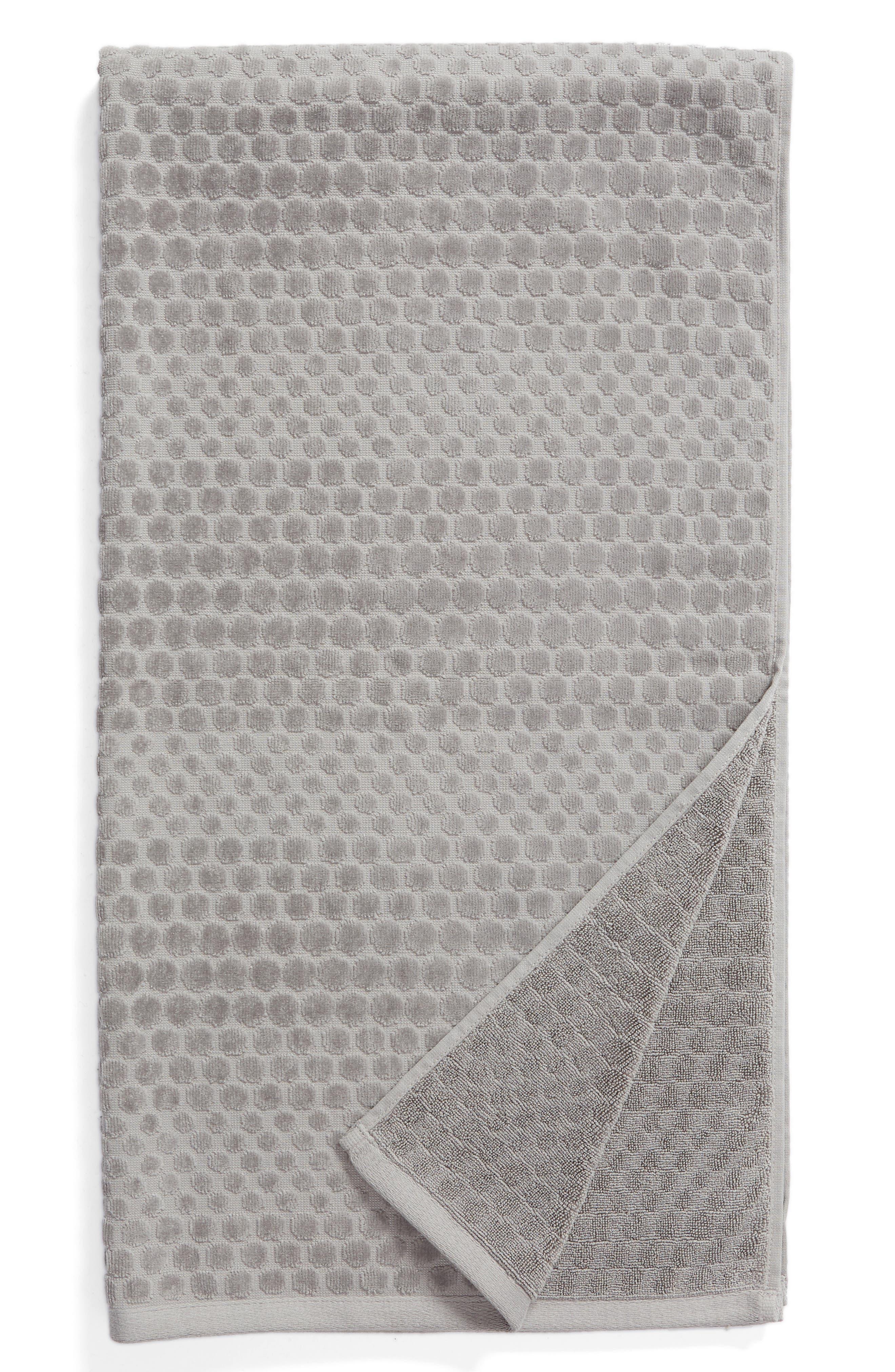Lorenza Bath Towel, Main, color, GREY FROST