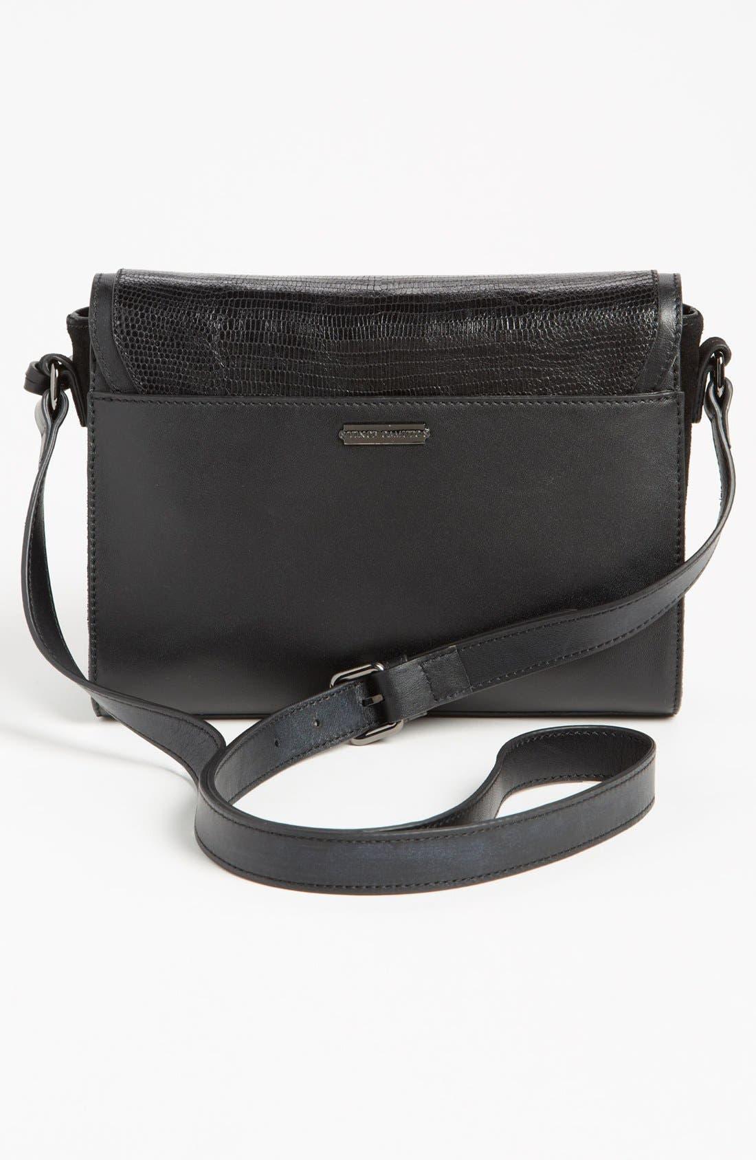 ,                             'Max' Leather Crossbody Bag,                             Alternate thumbnail 5, color,                             019