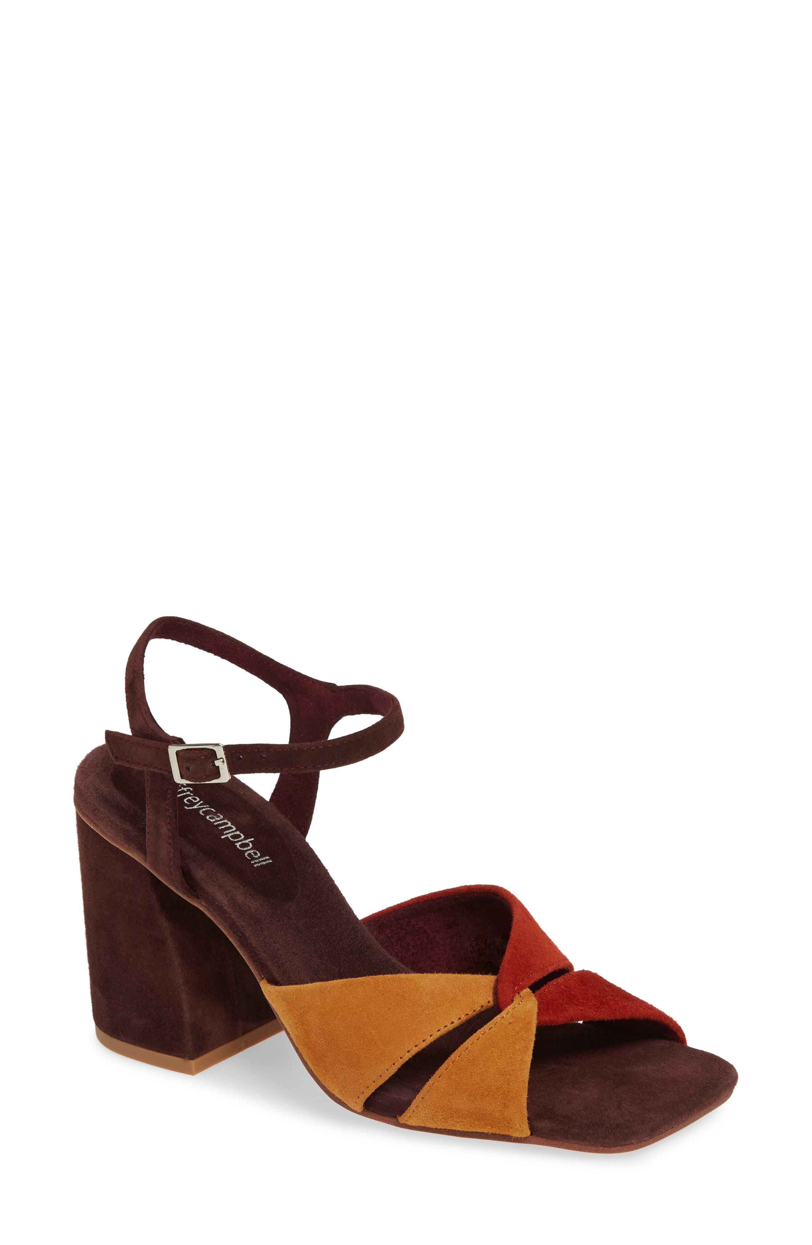 60s Shoes, Boots | 70s Shoes, Platforms, Boots Womens Jeffrey Campbell Antique Sandal Size 10 M - Burgundy $134.95 AT vintagedancer.com