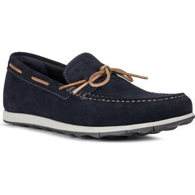 Geox Calarossa 1 Boat Shoe - Blue