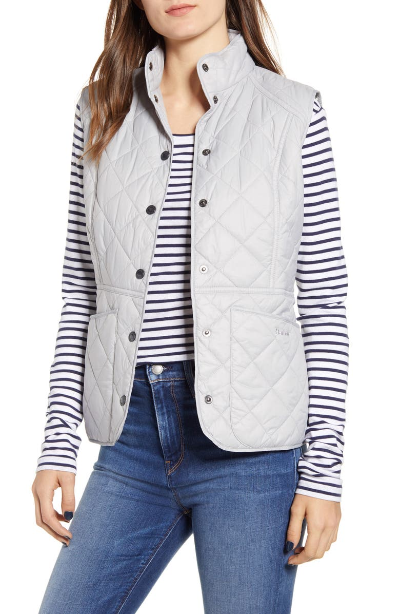 BARBOUR Chester Gilet, Main, color, ICE WHITE