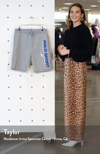 Polo Sport Fleece Athletic Shorts, sales video thumbnail
