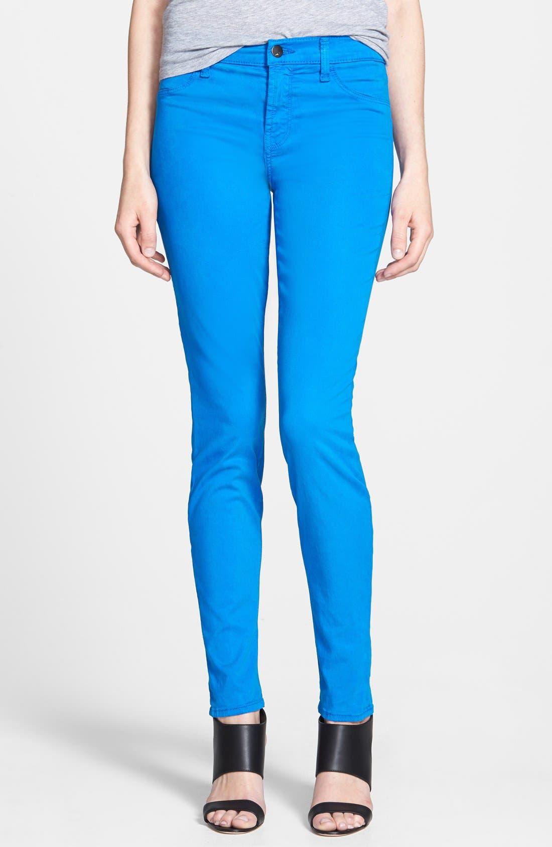 ,                             '485' Mid Rise Super Skinny Jeans,                             Main thumbnail 43, color,                             436