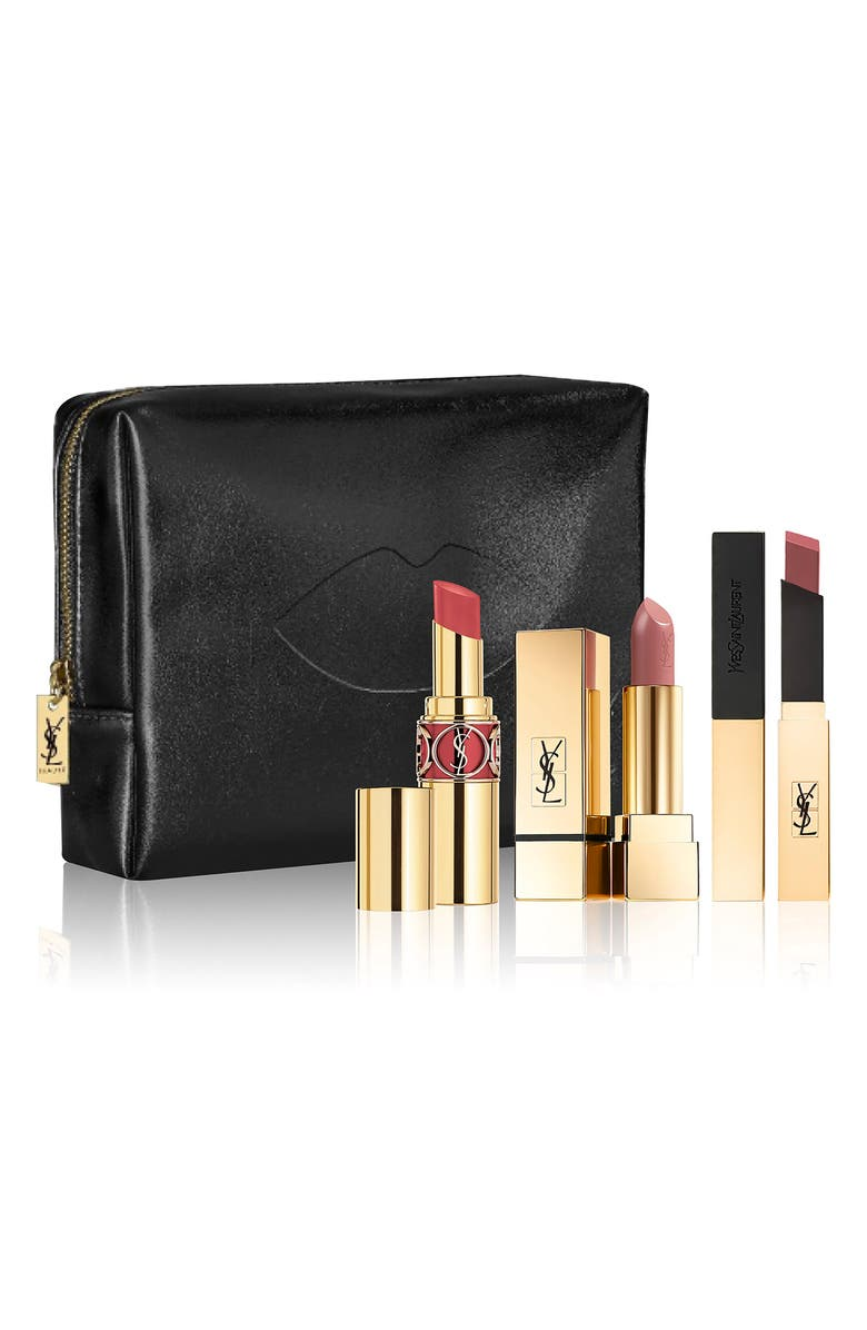 YVES SAINT LAURENT Nude Lip Trio, Main, color, NO COLOR