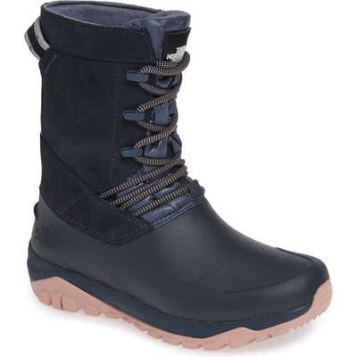 The North Face Yukiona Waterproof Winter Boot- Blue