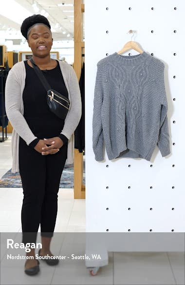 Textured Cable Sweater, sales video thumbnail