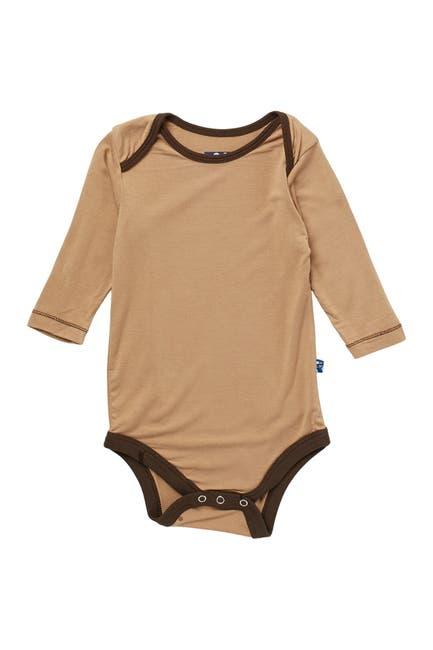 Image of KicKee Pants Solid Long Sleeve Bodysuit