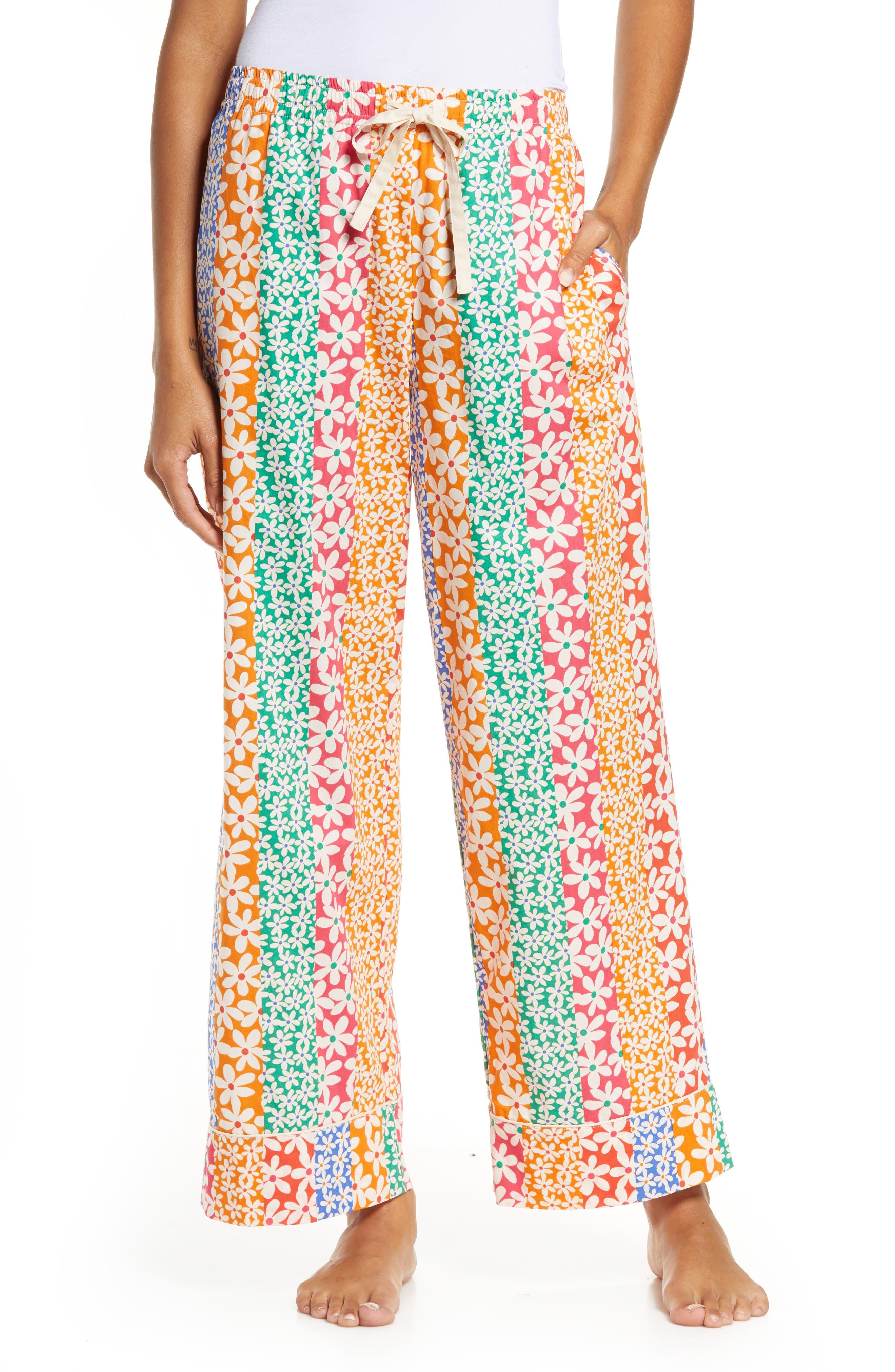 Women's Ban. do Floral Print Leisure Pants