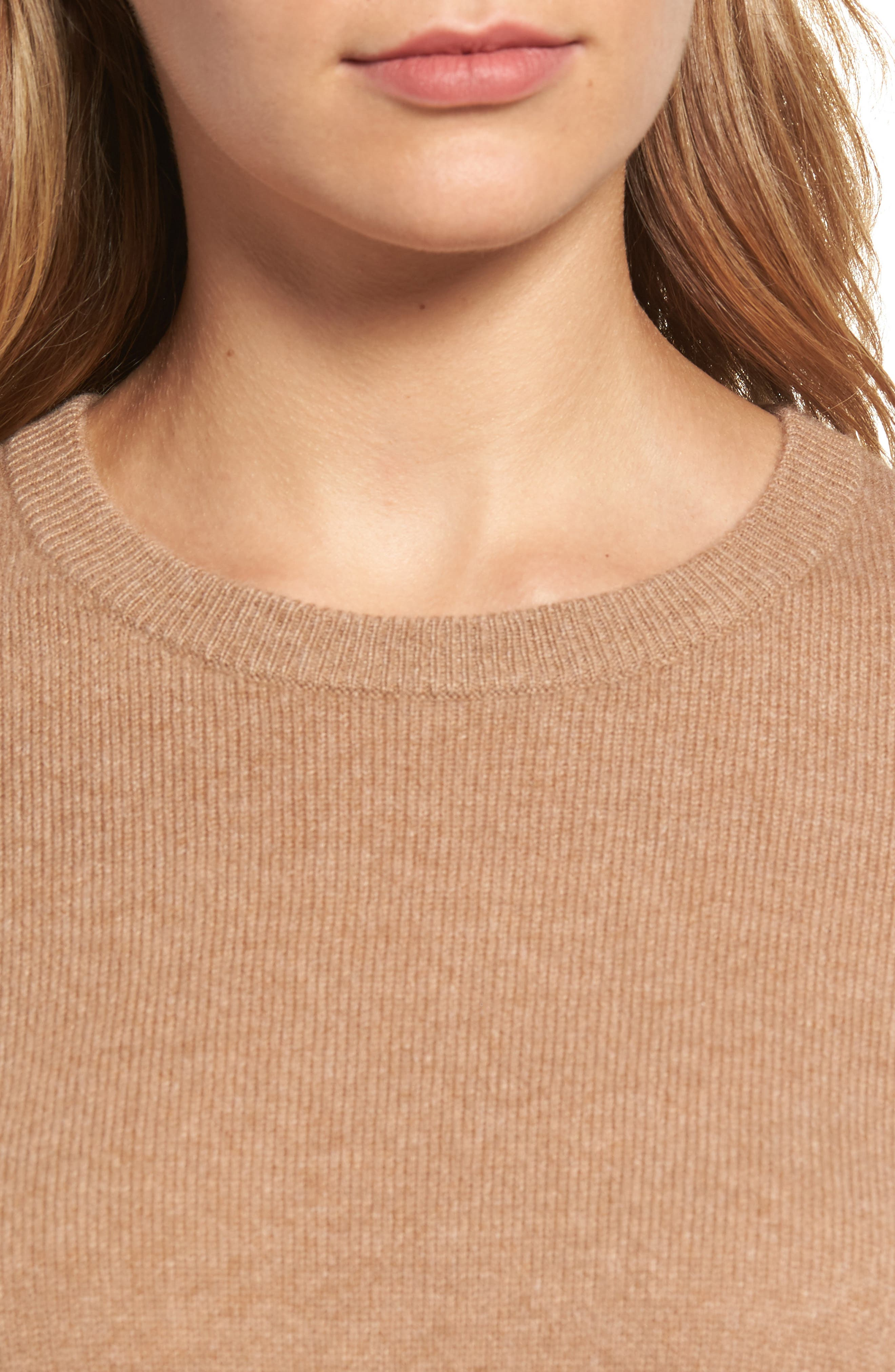 ,                             Crewneck Cashmere Sweater,                             Alternate thumbnail 263, color,                             235