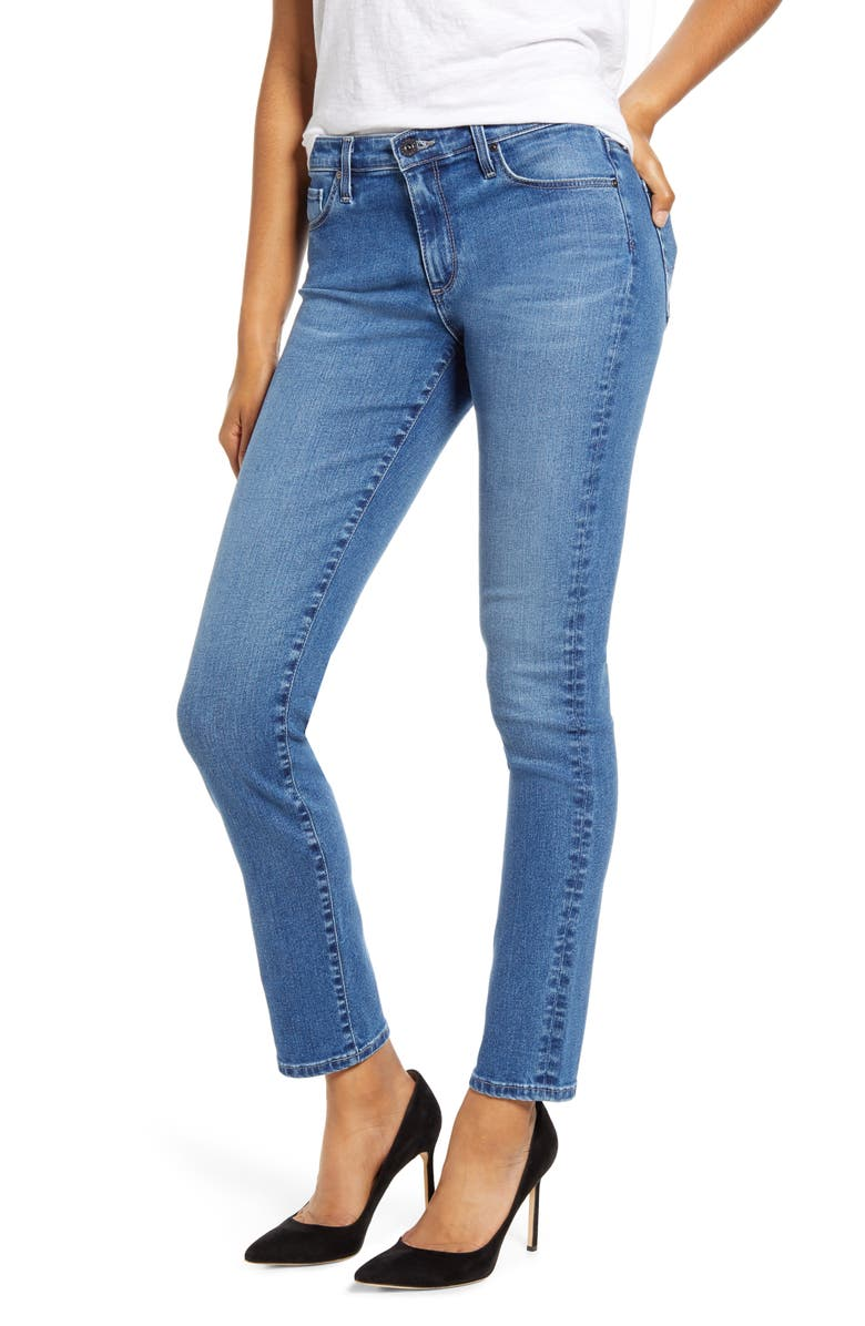 AG Prima Skinny Jeans, Main, color, LUCID BLISS