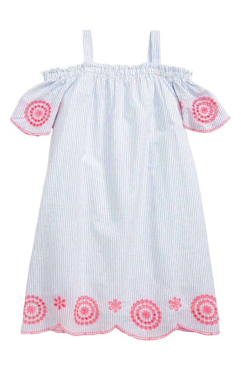 Tucker Tate Stripe Off The Shoulder Dress Toddler Girls Little Girls Big Girls