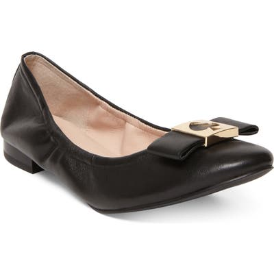 Kate Spade New York Maline Ballet Flat, Black