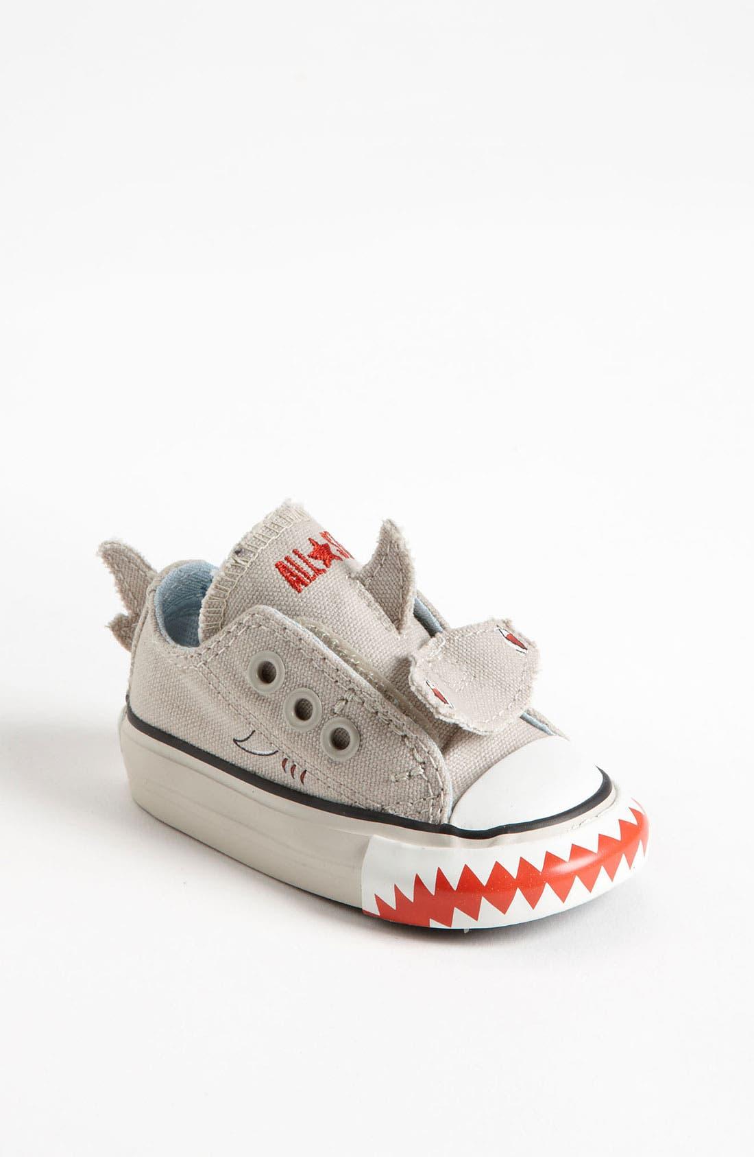 Converse 'Shark' Sneaker (Baby, Walker