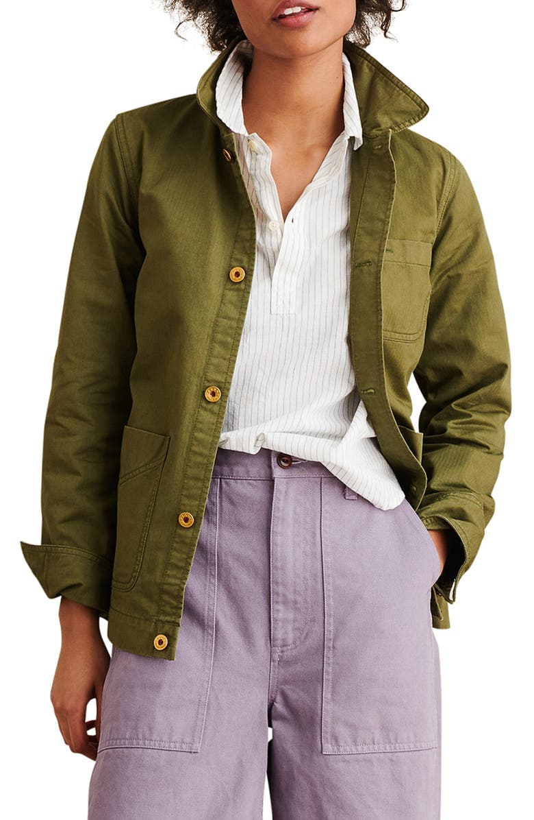 ALEX MILL Herringbone Work Jacket, Main, color, 300