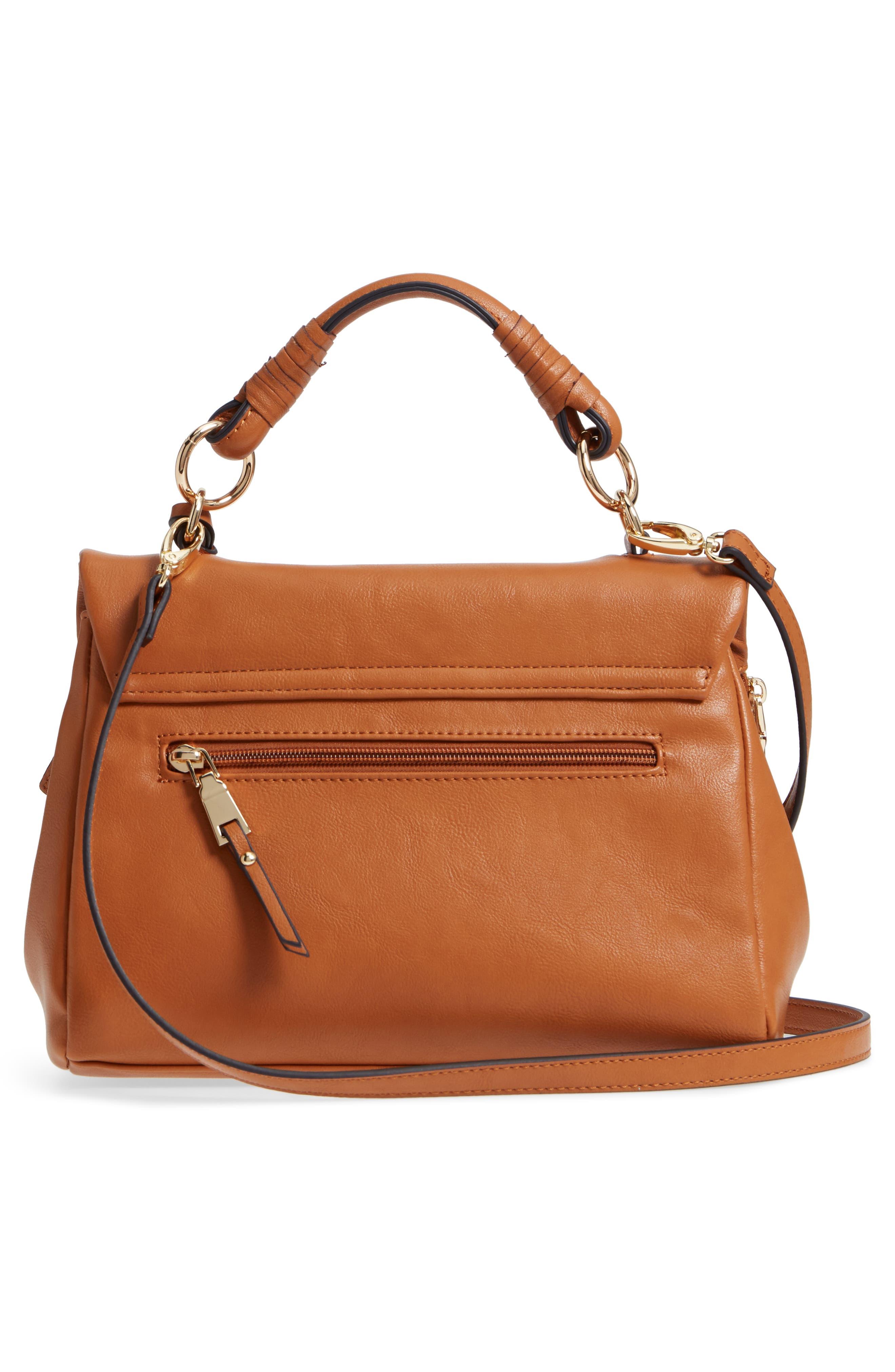 ,                             Top Handle Faux Leather Crossbody Bag,                             Alternate thumbnail 9, color,                             230