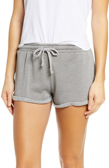 Image of Vintage Havana Burnout Fleece Shorts