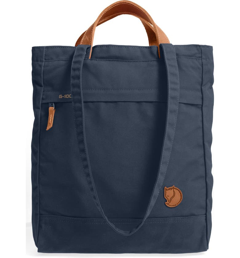 FJÄLLRÄVEN 'Totepack No.1' Water Resistant Tote, Main, color, NAVY