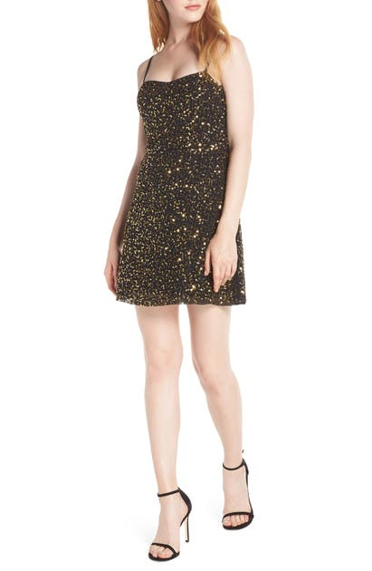French Connection Dresses SWEETHEART SEQUIN DRESS