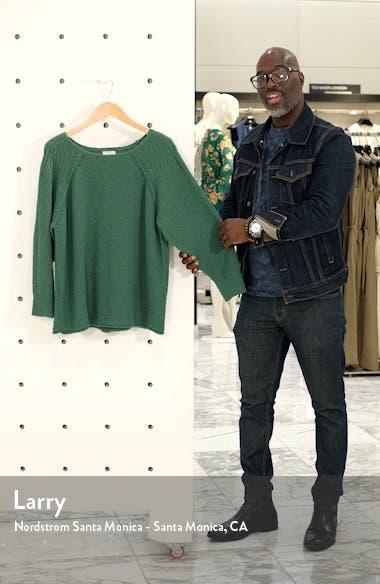 Bouclé Bateau Neck Sweater, sales video thumbnail