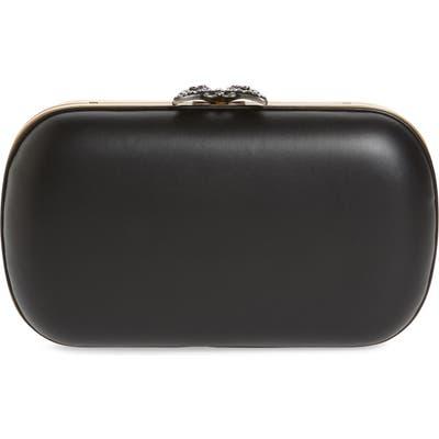 Gucci Broadway Leather Minaudiere - Black