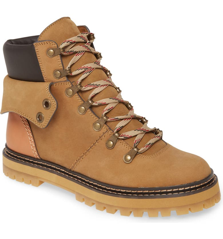 SEE BY CHLOÉ Eileen Hiking Boot, Main, color, TOTORA