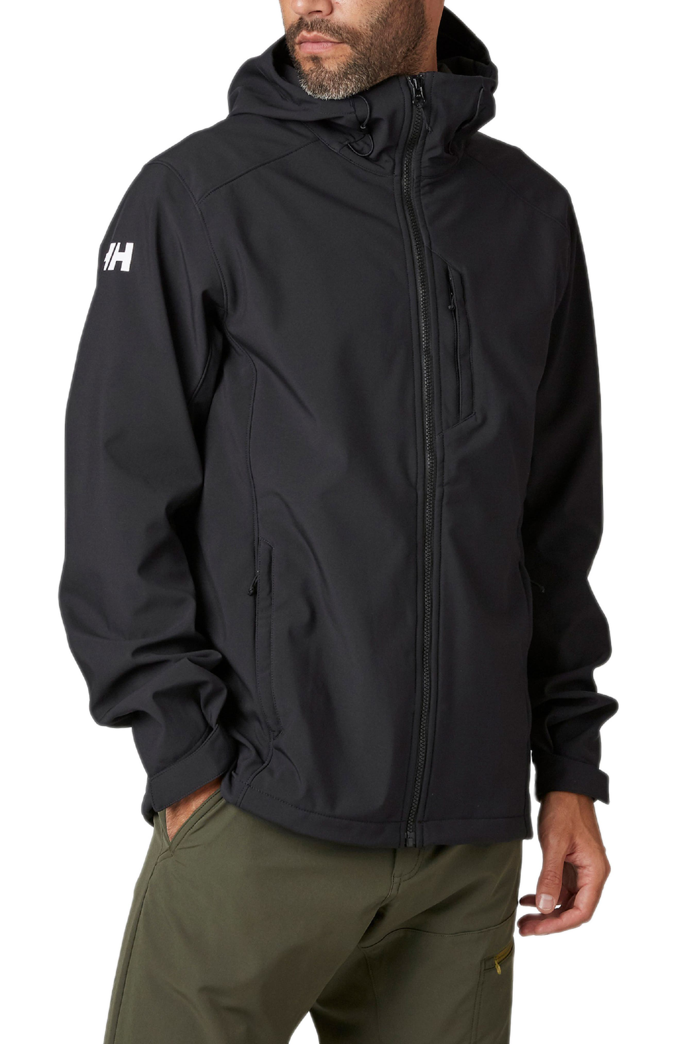 Paramount Water Resistant Hooded Softshell Jacket
