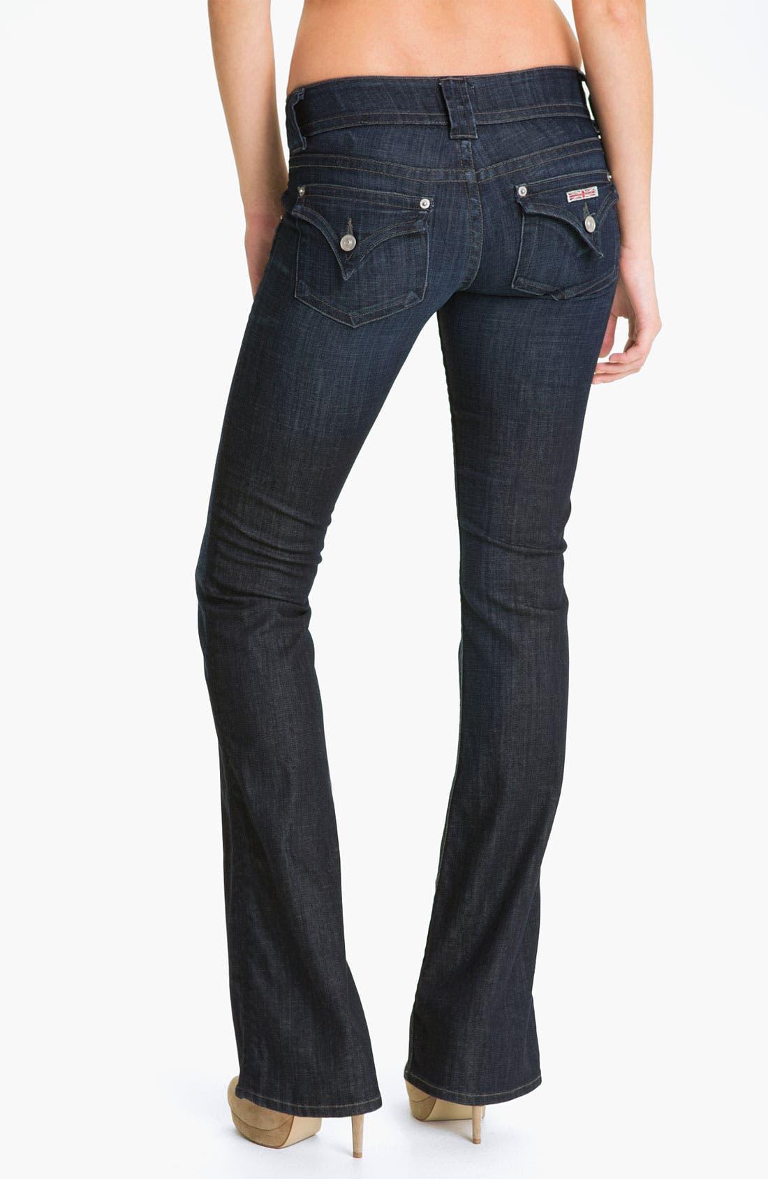 ,                             Signature Flap Pocket Bootcut Jeans,                             Alternate thumbnail 62, color,                             468