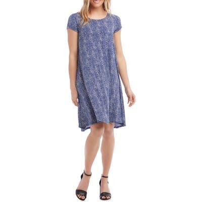 Karen Kane Maggie Trapeze Dress, Blue
