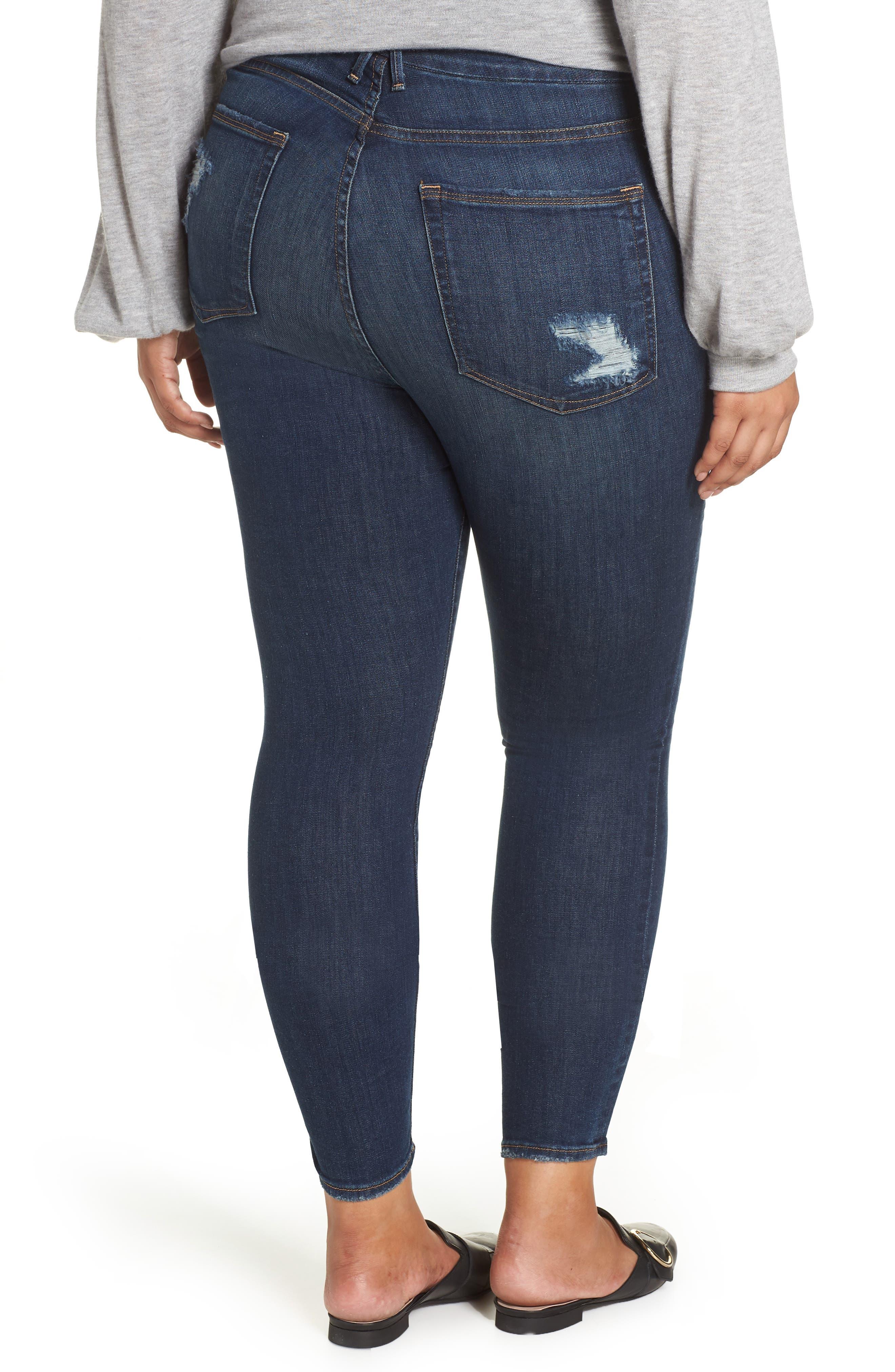 ,                             Good Legs High Waist Skinny Jeans,                             Alternate thumbnail 14, color,                             403