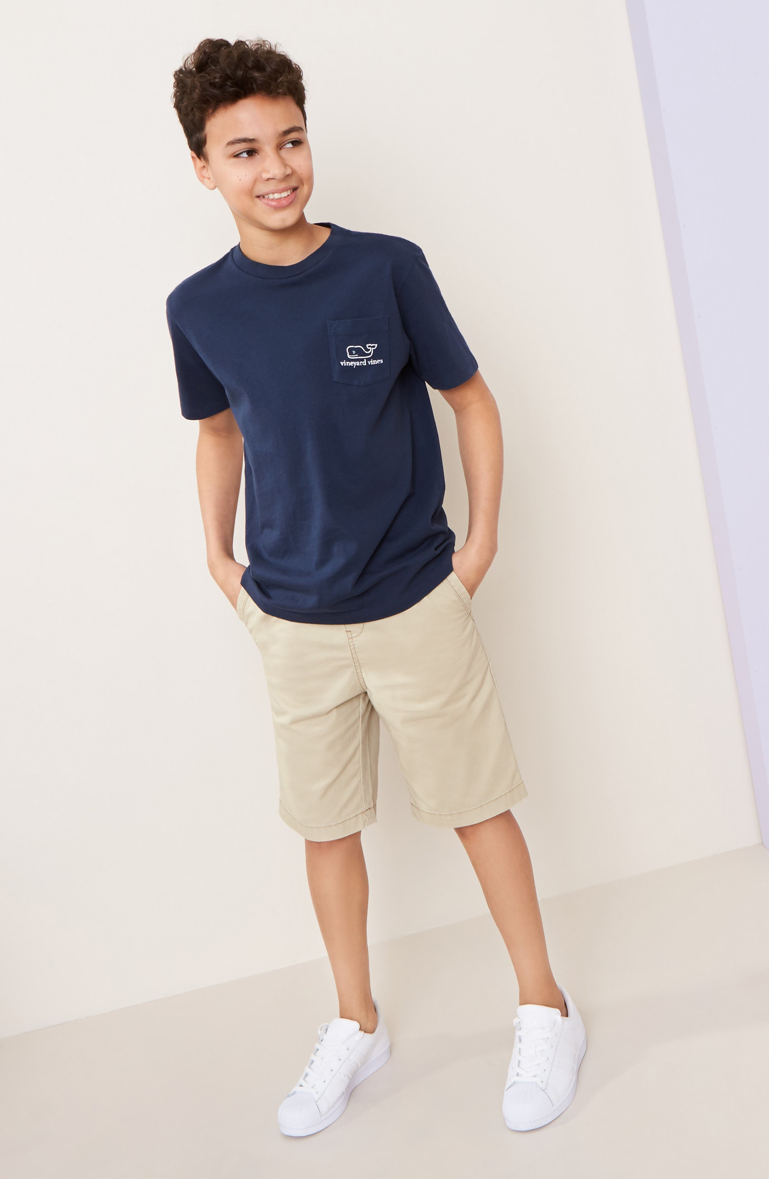 ,                             Cotton Twill Shorts,                             Alternate thumbnail 10, color,                             235