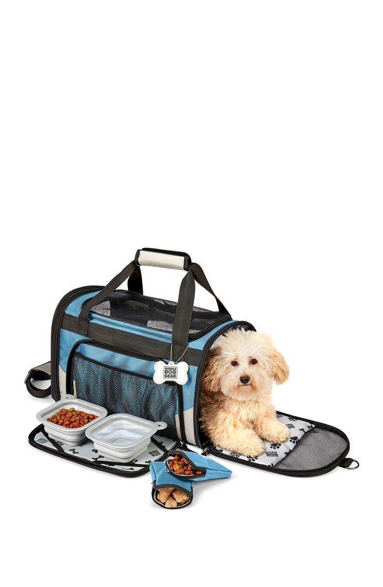 MOBILE DOG GEAR Pet Carrier Plus - Blue, Main, color, BLUE