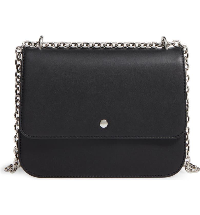 CHELSEA28 Dahlia Faux Leather Shoulder Bag, Main, color, 001