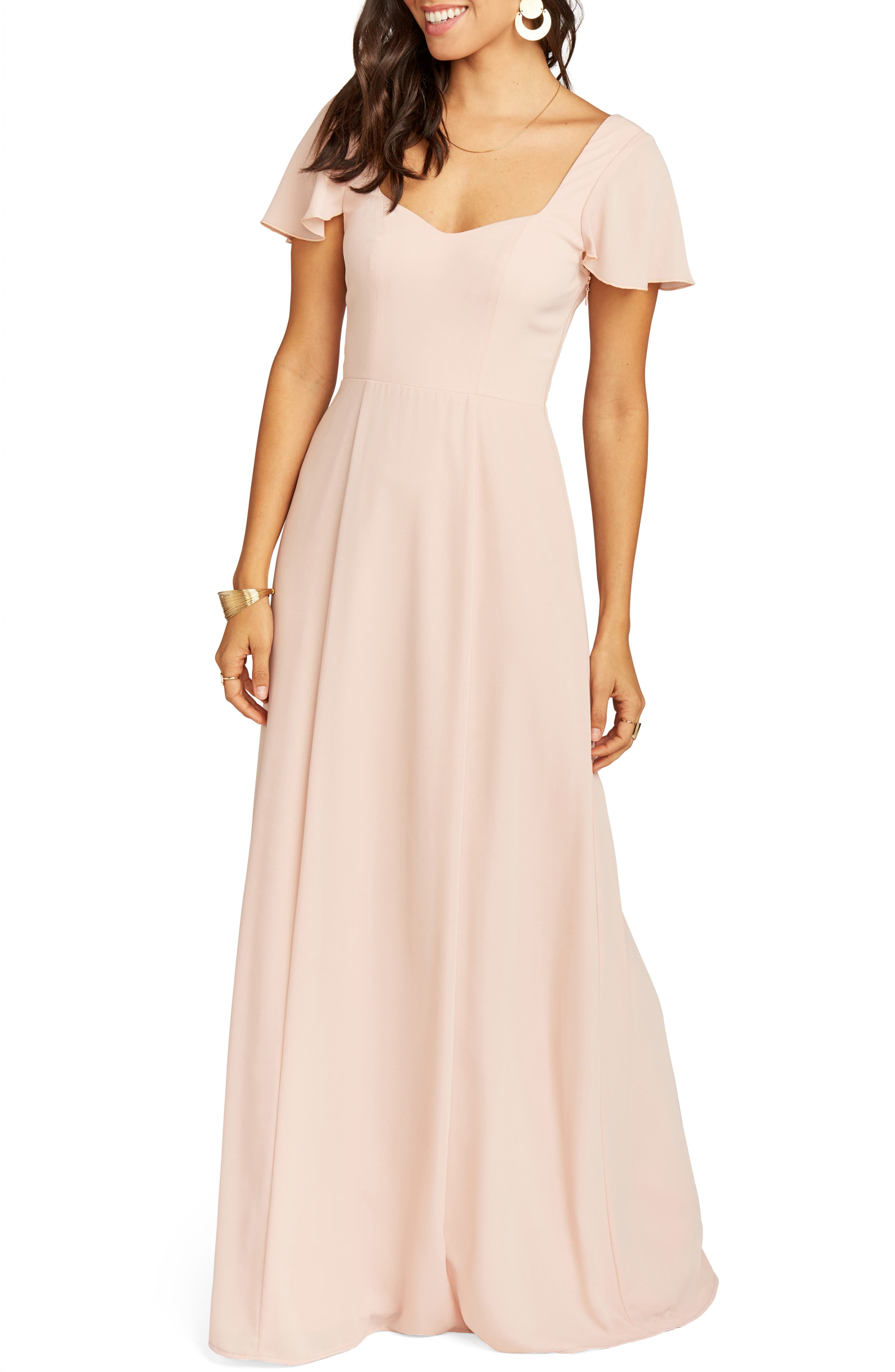 Show Me Your Mumu Marie Sweetheart Gown, Pink