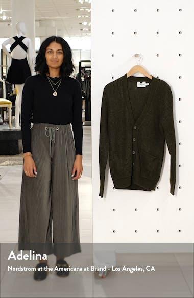 Rack Textured Cardigan Sweater, sales video thumbnail