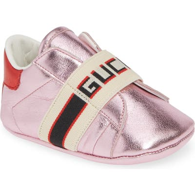Gucci New Ace Logo Strap Sneaker