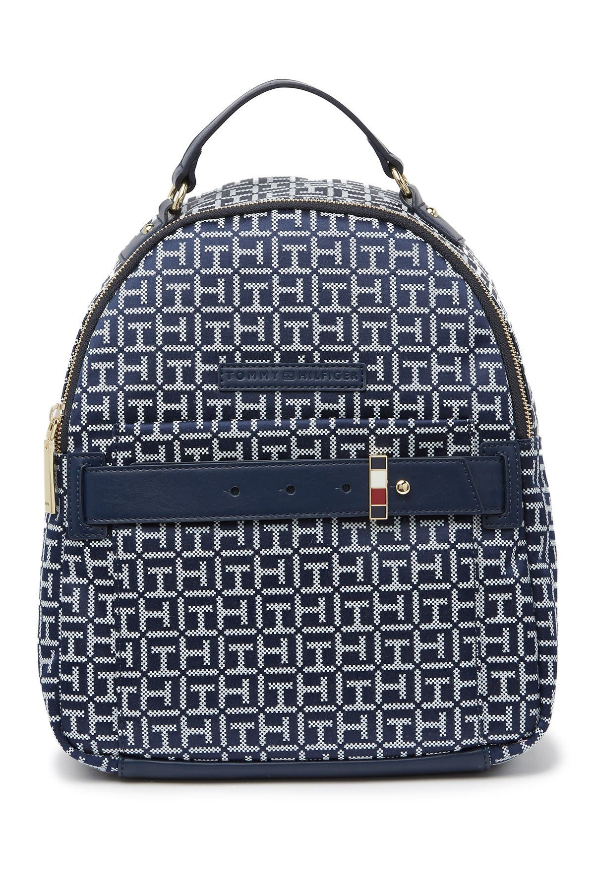 Image of Tommy Hilfiger Emilia Dome Mono Jacquard Backpack
