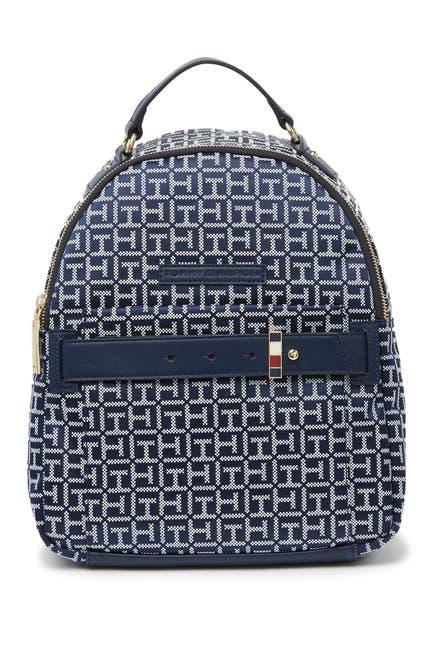 Image of Tommy Hilfiger Emilia Dome Mono Jacquard Backpack