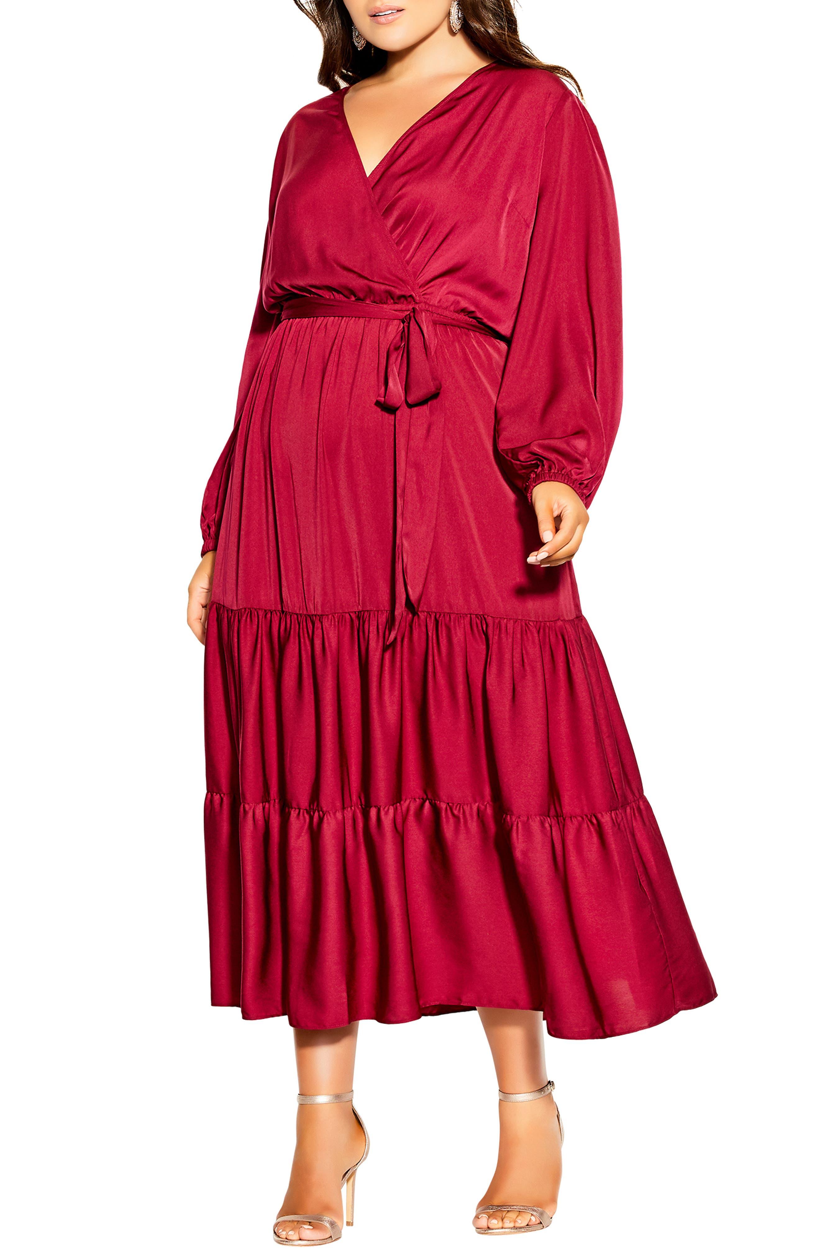 Pretty Tier Long Sleeve Dress
