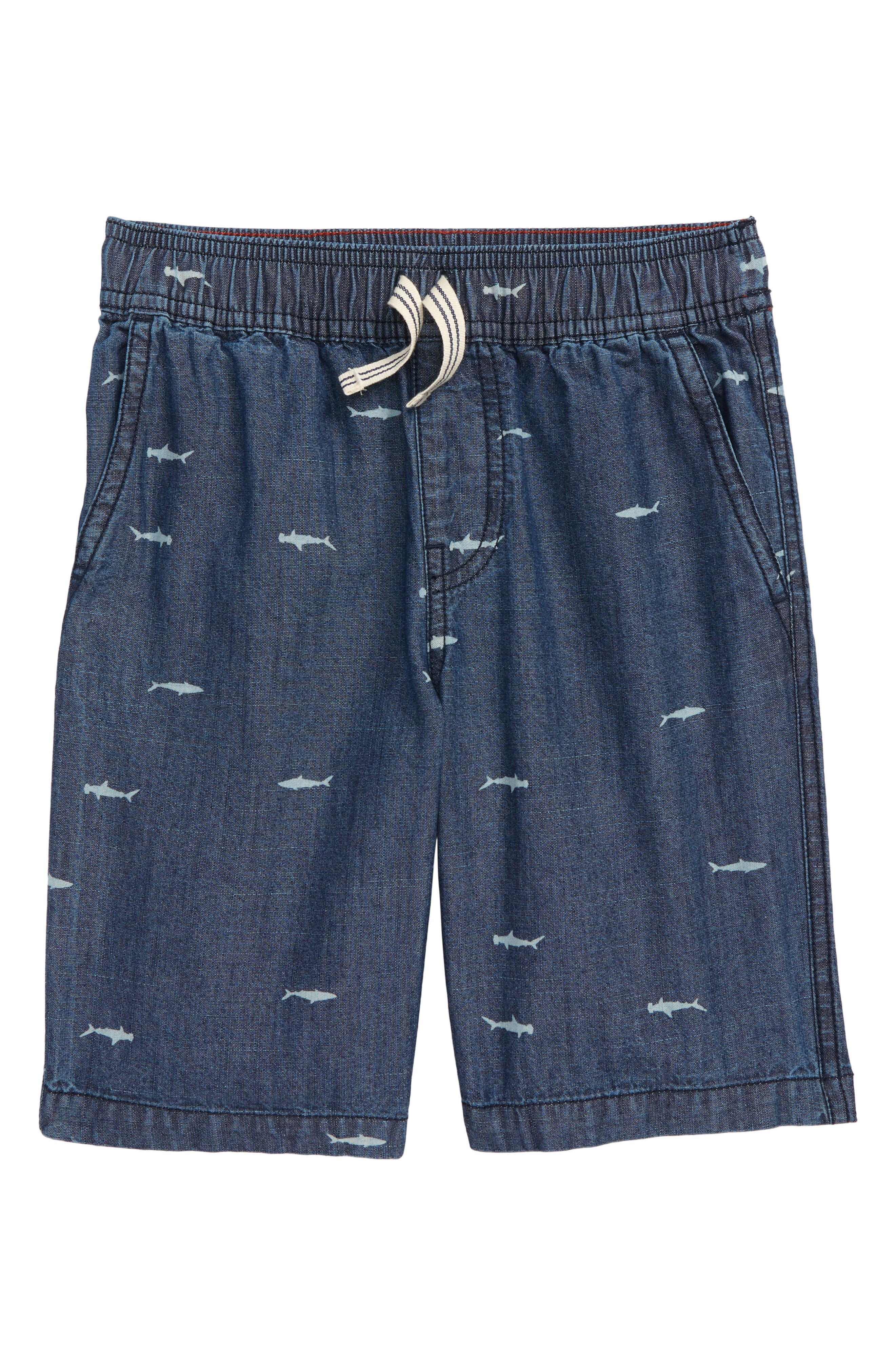Tea Collection Chambray Discover Shorts