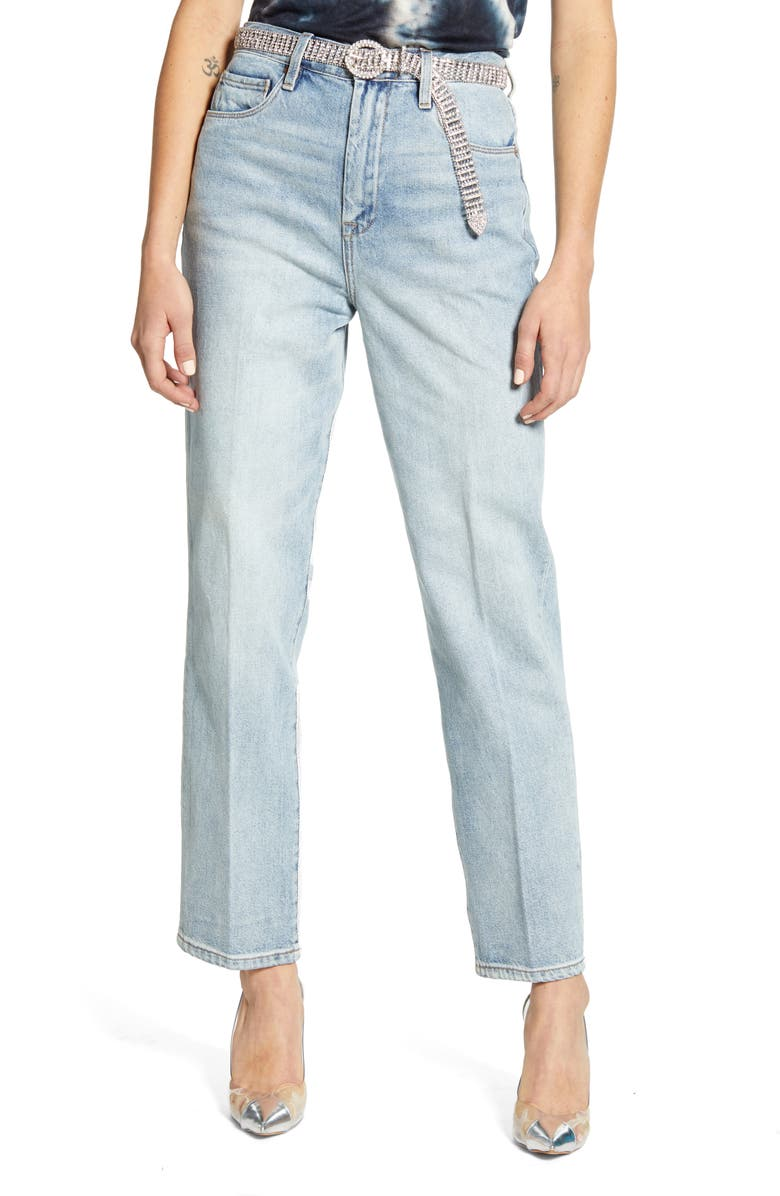 BLANKNYC The Howard Loose Fit Straight Leg Jeans, Main, color, 400