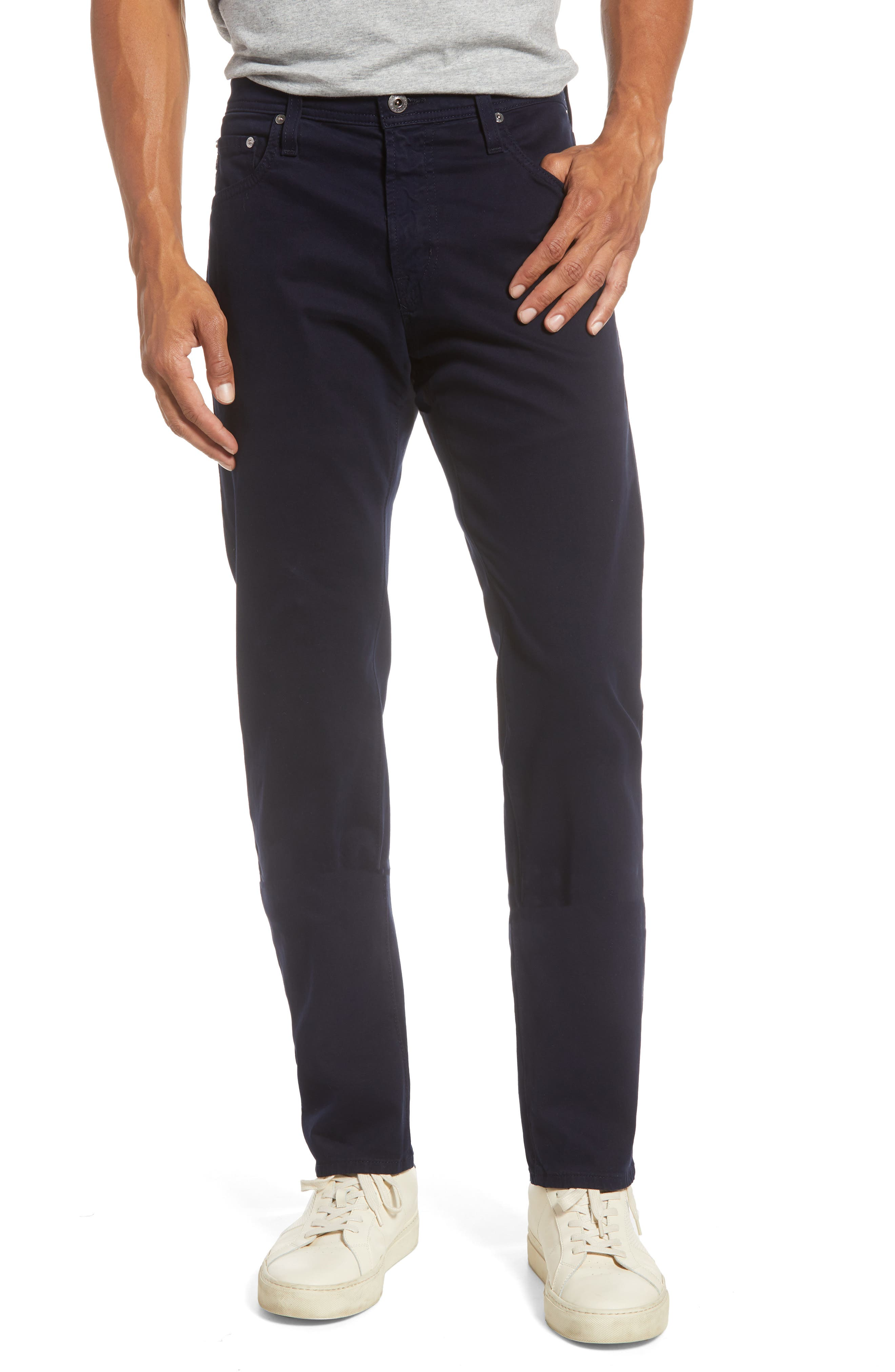 Men's Big & Tall Ag Tellis Sud Modern Slim Fit Stretch Twill Pants,  36 x 36 - Blue