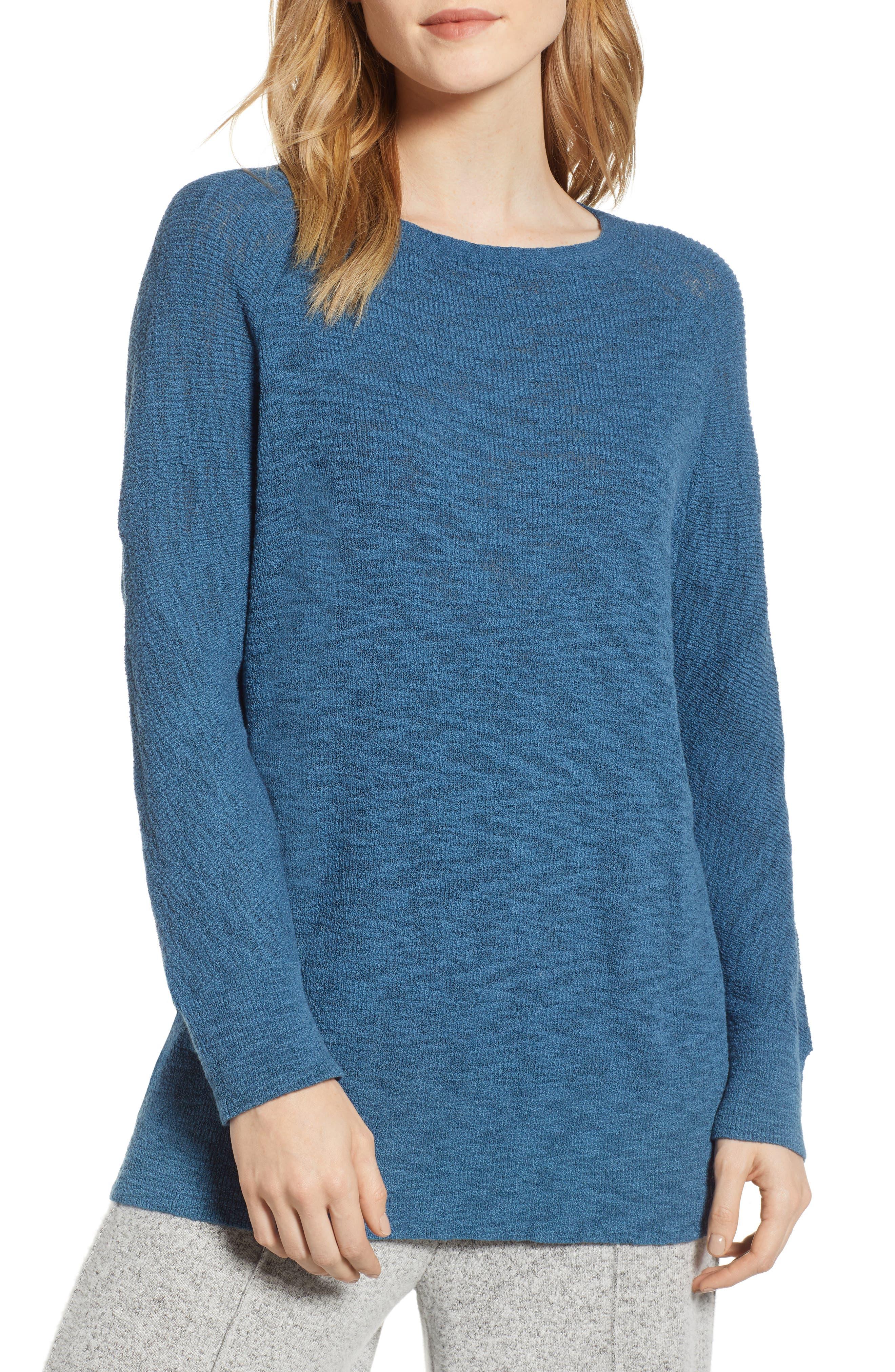 Lou & Grey Dolman Sweater, Blue