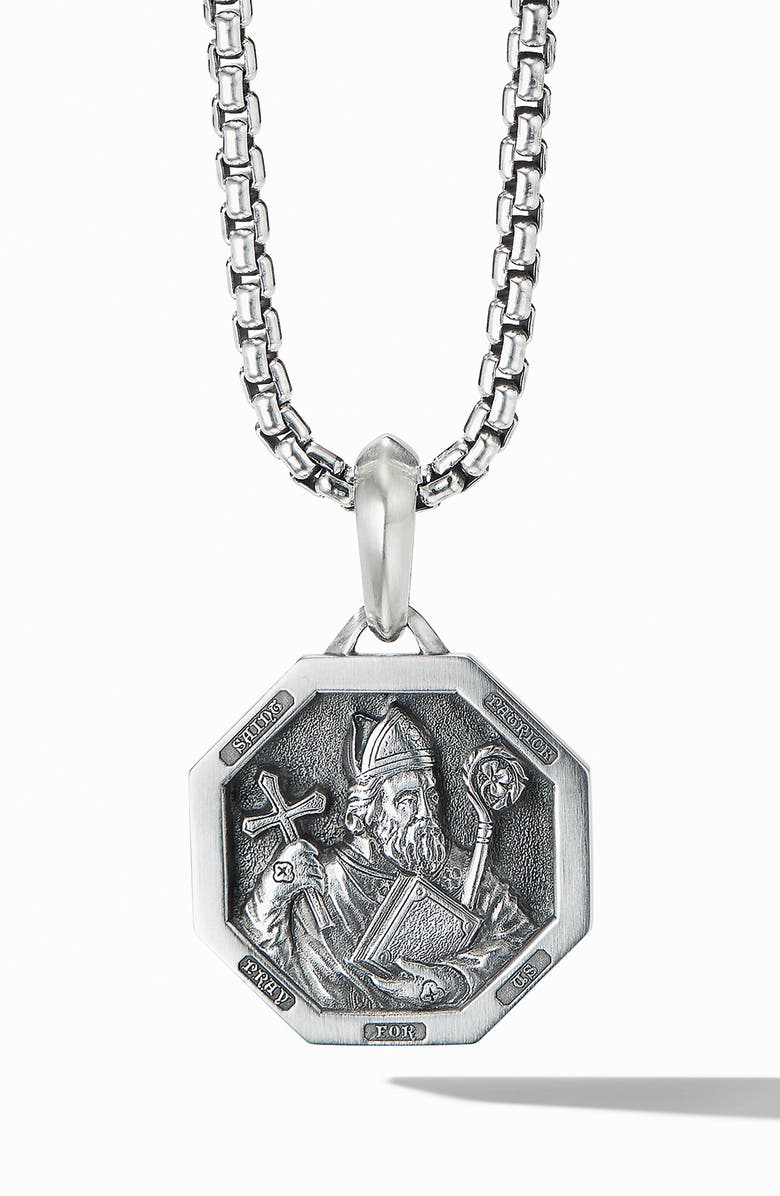 DAVID YURMAN St. Patrick Amulet, Main, color, SILVER