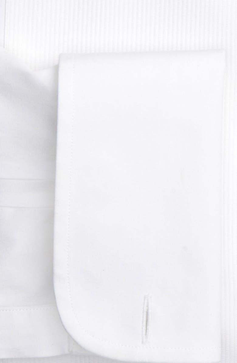 ARMANI COLLEZIONI Modern Fit Tuxedo Shirt, Main, color, 118