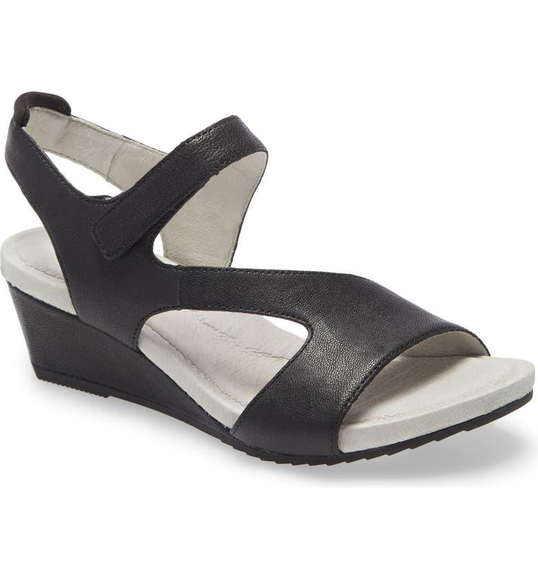 JAMBU Modena Wedge Sandal, Main, color, NAVY/ BLUE