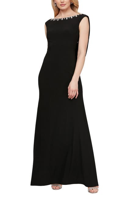 Image of Ignite Draped Back Gown
