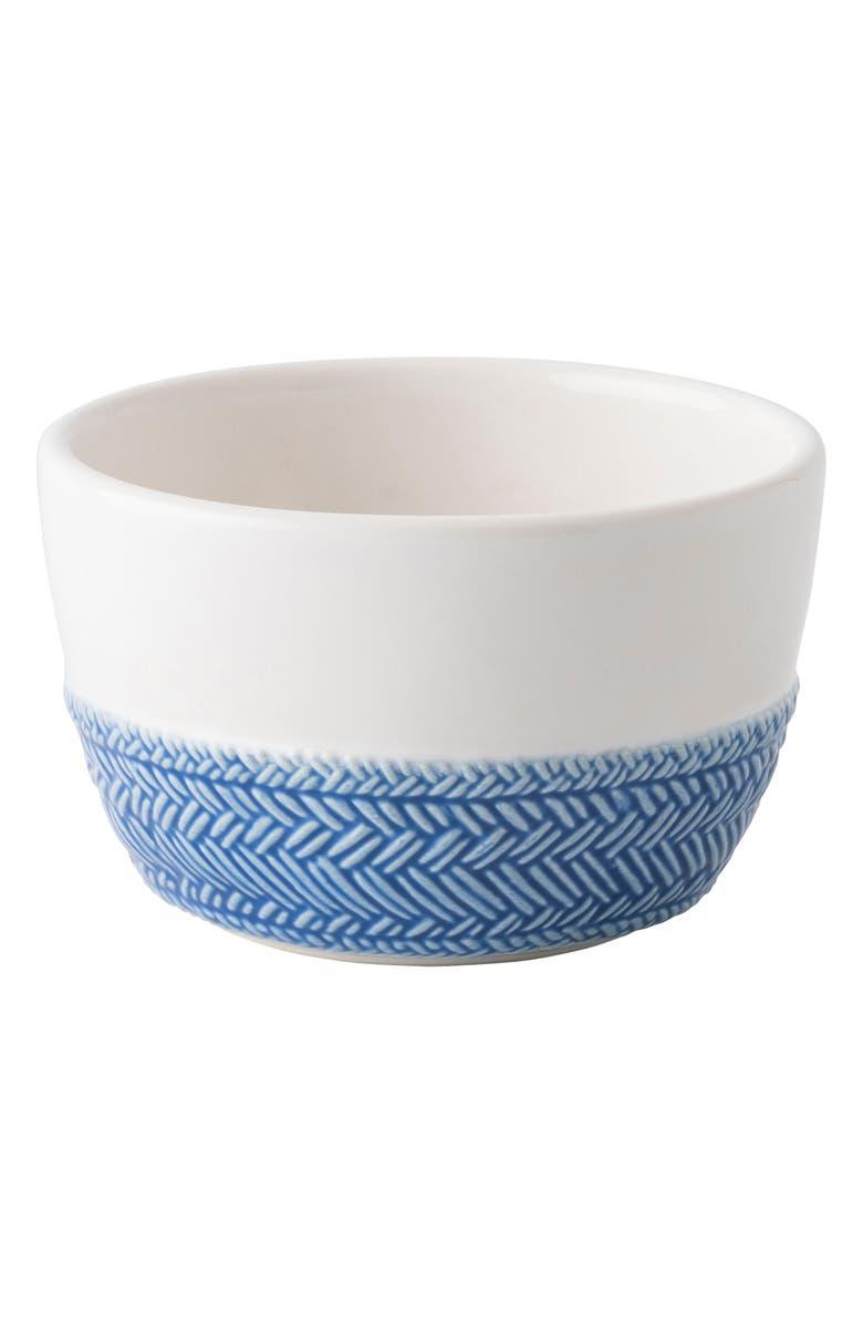 JULISKA Le Panier Ramekin, Main, color, DELFT BLUE/ WHITEWASH