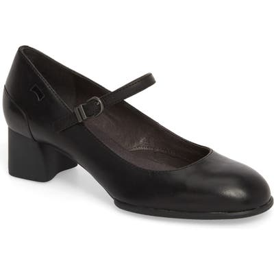 Camper Katie Mary Jane Pump, Black