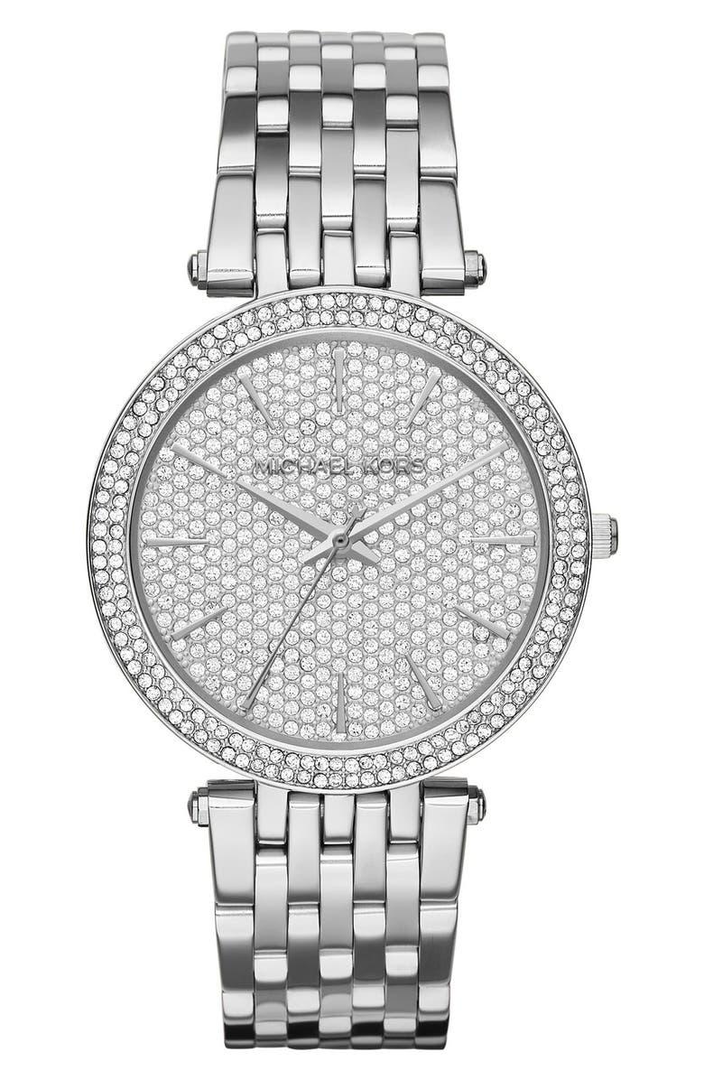 MICHAEL MICHAEL KORS Michael Kors'Darci' Bracelet Watch, 39mm, Main, color, 040